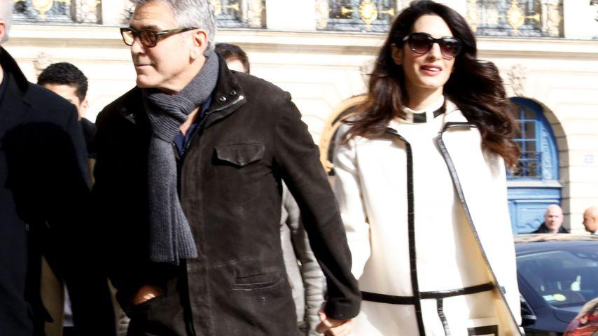 L'amour in Paris: Bald-Eltern George & Amal total verliebt!