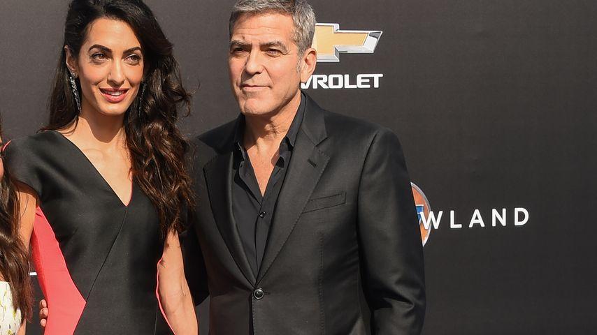 George Clooney: So schwärmt er von seiner Ehe mit Amal