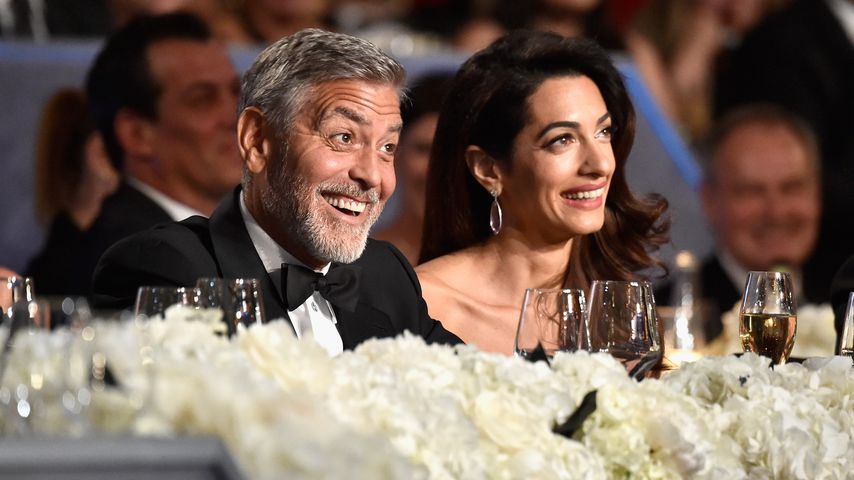 George und Amal Clooney bei den Life Achievement Awards 2018
