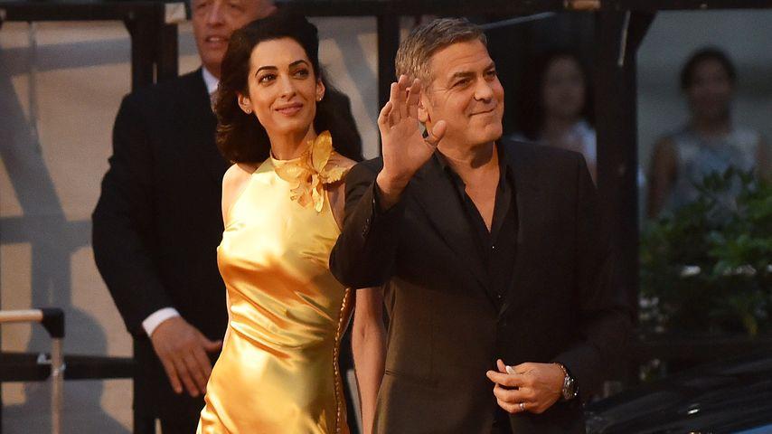 Amal & George Clooney: Goldener Auftritt in Tokio