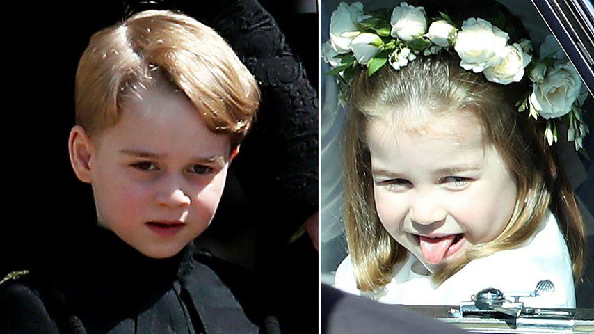 Zu frech! Hochzeitsabläufe wegen George & Charlotte geändert