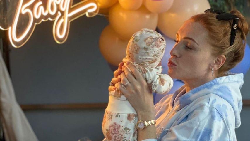 Georgina Fleur und ihre Tochter