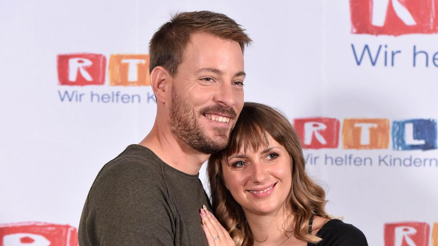 Gerald und Anna Heiser beim RTL-Spendenmarathon 2018