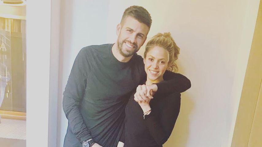 Liebes-Aus? Von wegen! Shakira und ihr Piqué turteln im Netz