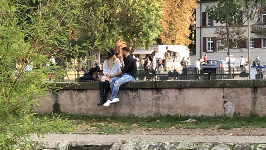 Gerda Lewis und Tim Stammberger in Straßburg, Oktober 2019