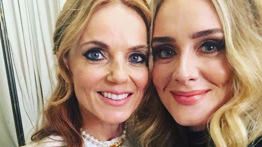 Geri Halliwell und Adele