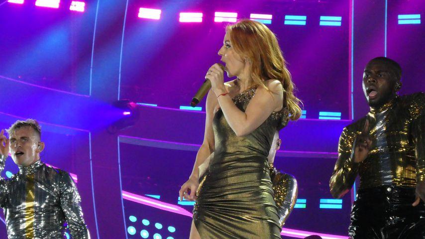 Geri Horner bei der Reunion-Tour der Spice Girls