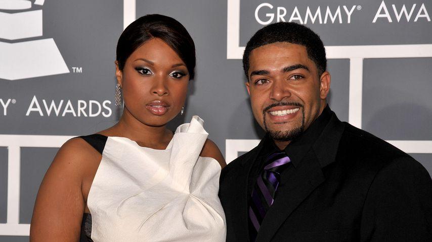 Jennifer Hudson und ihr Verlobter David Otunga bei den Grammys 2009