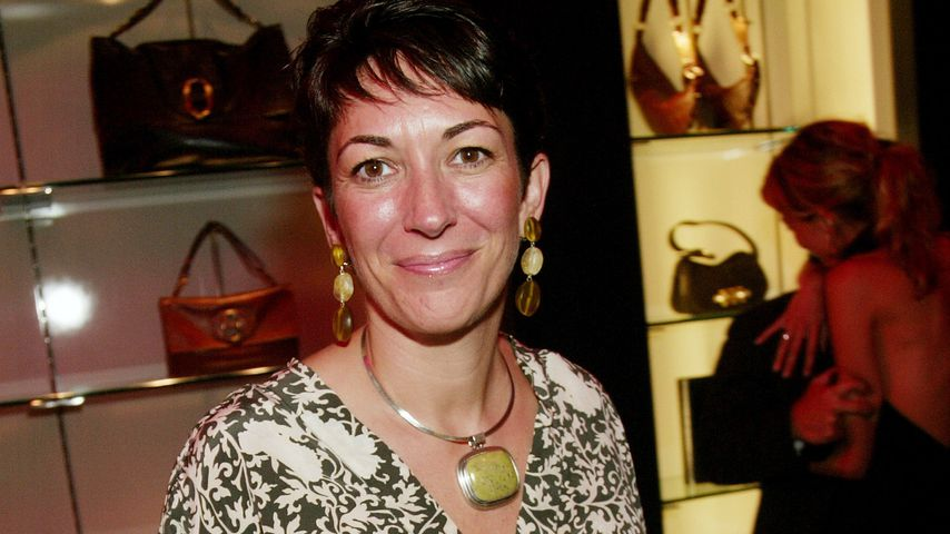 Ghislaine Maxwell im September 2003