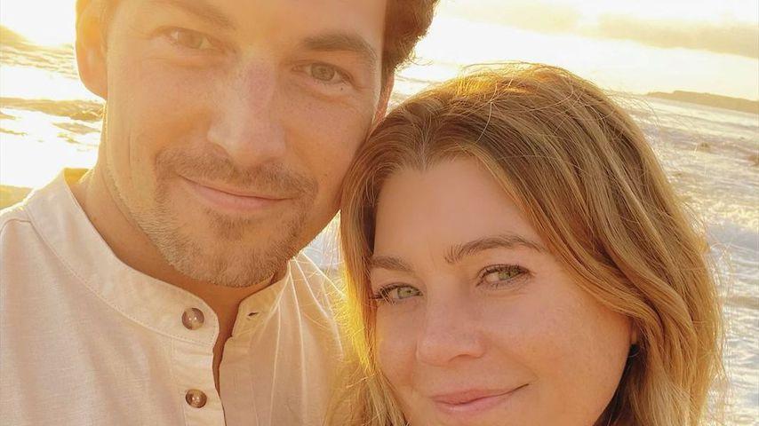 "Giacomo Gianniotti und Ellen Pompeo, ""Grey's Anatomy""-Stars"