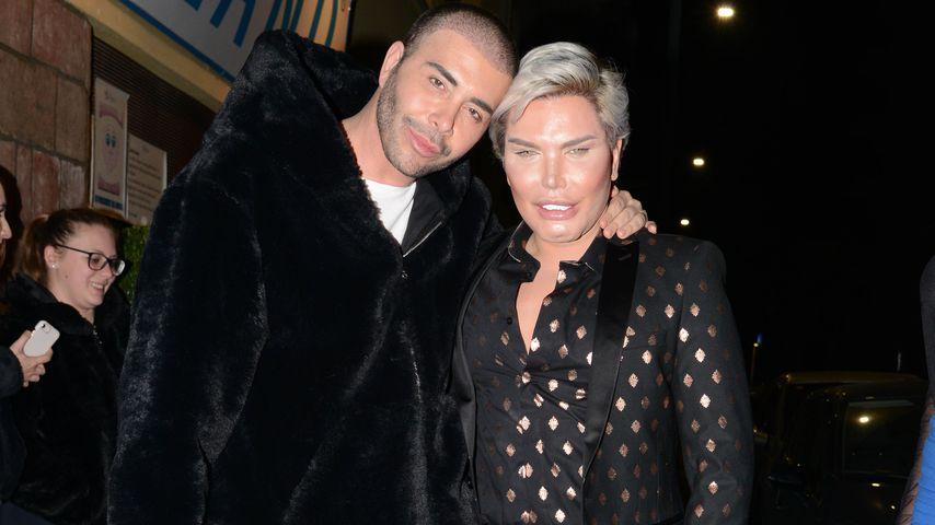 Giacomo Urtis und Rodrigo Alves in Mailand, 2019