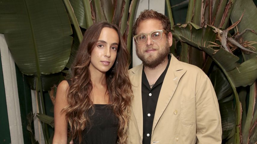Gianna Santos und Jonah Hill 2019 in West Hollywood