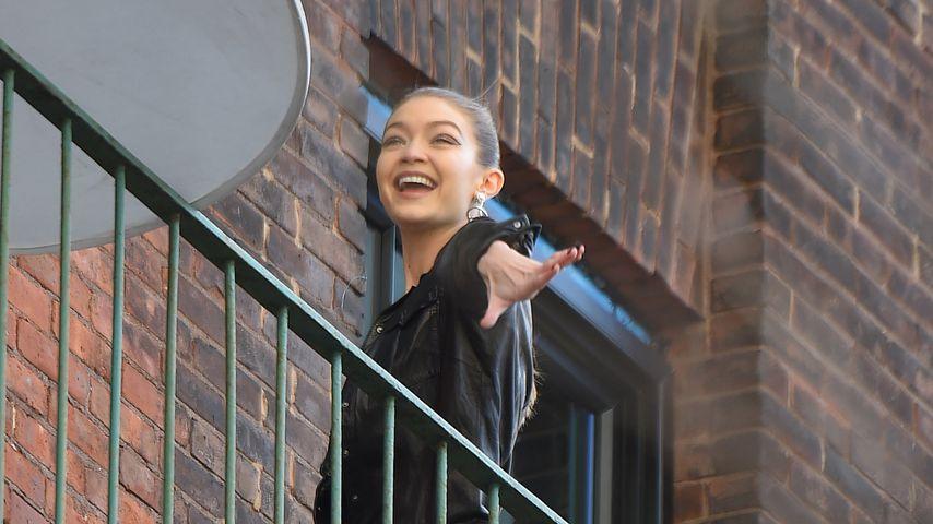 Nach Zayn-Trennung: Gigi Hadid happy bei der Arbeit!