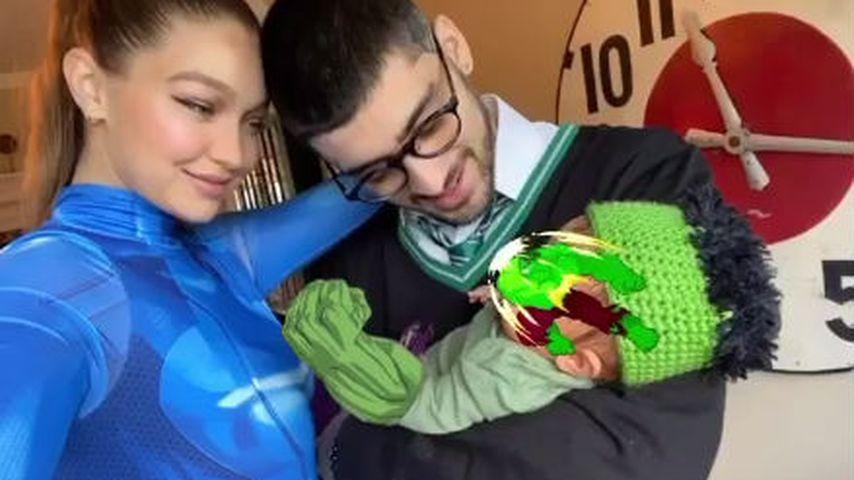 Gigi Hadid mit Zayn Malik und ihrer Tochter