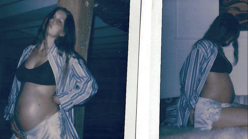 Nie gesehen: Gigi Hadid teilt Pics aus ihrer Schwangerschaft