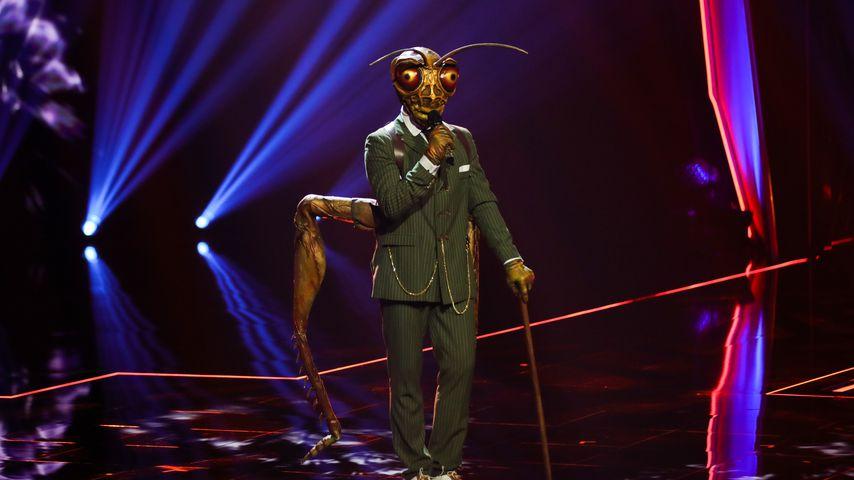 """Gil Ofarim als der Grashüpfer im """"The Masked Singer""""-Finale"""