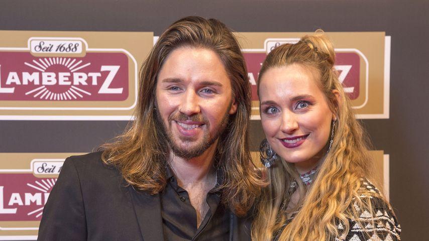 Gil Ofarim mit Ehefrau Verena Ofarim bei der Lambertz Monday Night im Alten Wartesaal in Köln