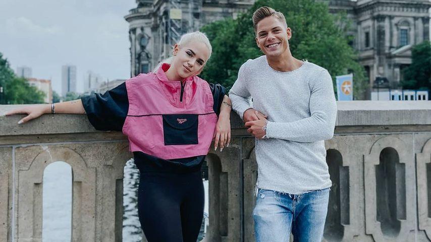Gina Beckmann und Cedric Beidinger in Berlin