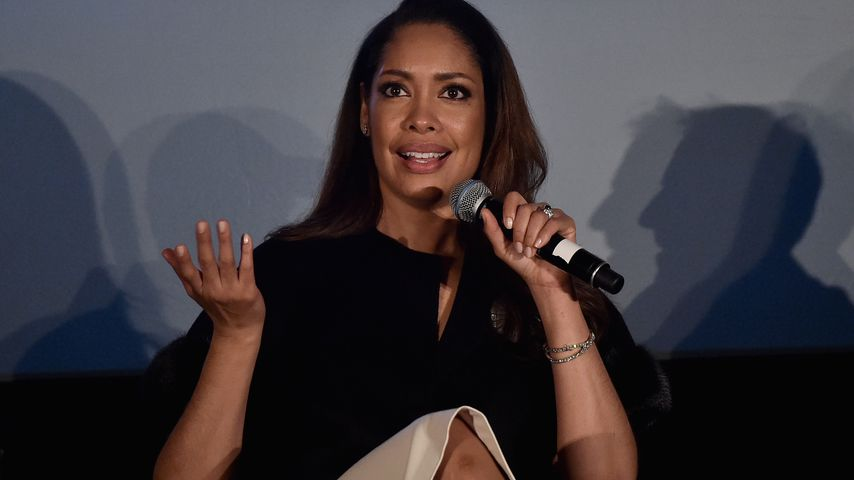 """Gina Torres bei einer Pressekonferenz von """"Suits"""""""