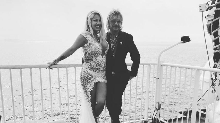 Ginger Costello und Bert Wollersheim bei ihrer Hochzeit
