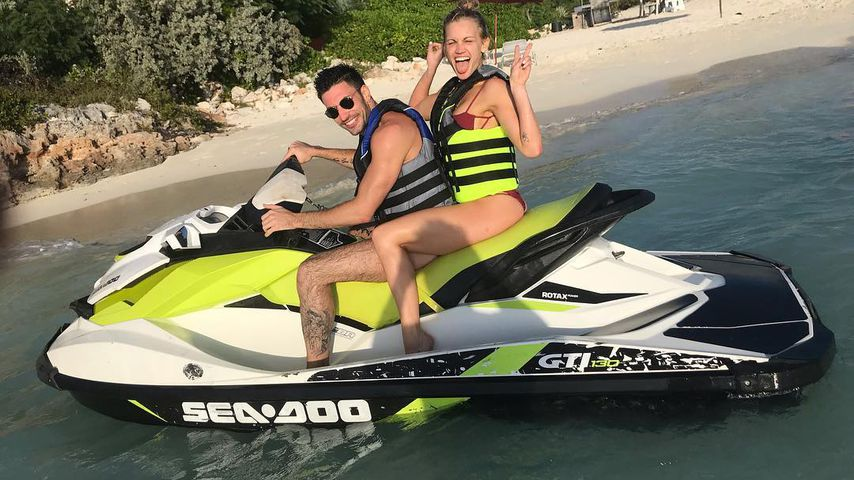 Giovanni Pernice und Ashley Roberts im Januar 2019