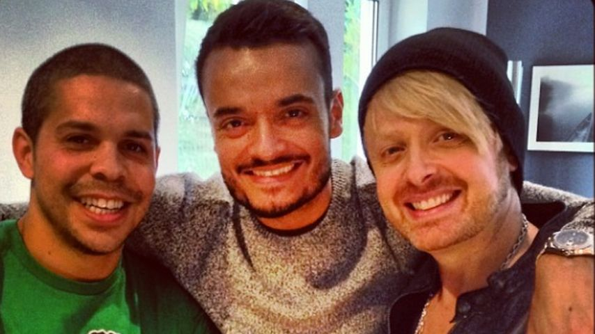 Shaham Joyce, Giovanni Zarrella und Ross Antony (Ex-Bro'Sis-Mitglieder)