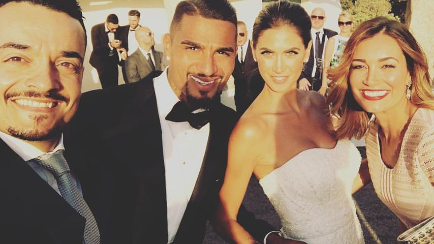 Boateng-Hochzeit: Auch die Zarrellas waren zu Gast