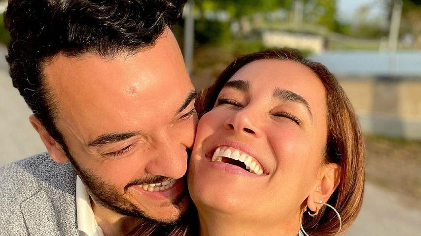 Italo-Schlagerstar Giovanni Zarrella mit seiner Ehefrau Jana Ina