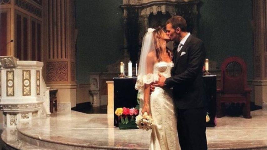 Gisele Bündchen und Tom Brady bei ihrer Hochzeit