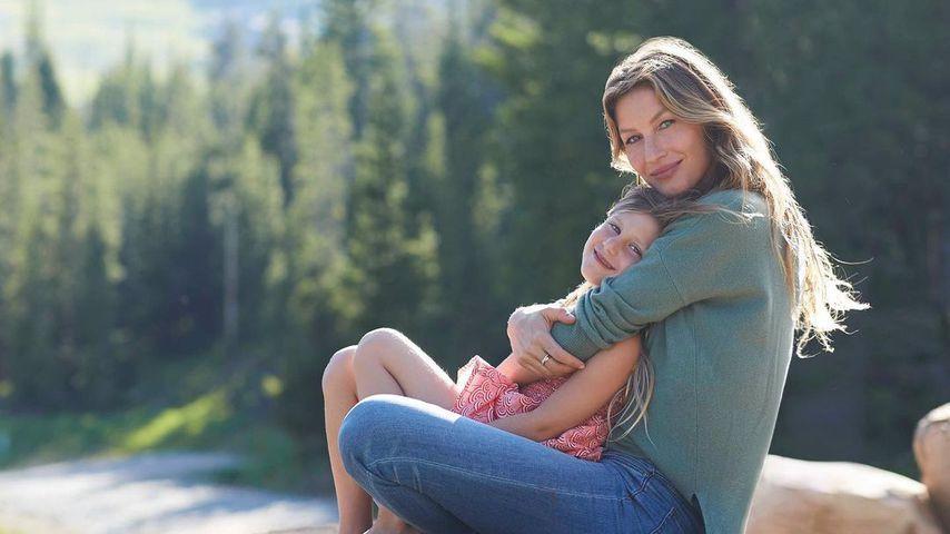 Gisele Bündchen (r.) mit ihrer Tochter Vivian