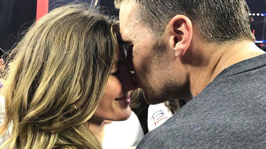 Gisele Bündchen und ihr Mann Tom Brady