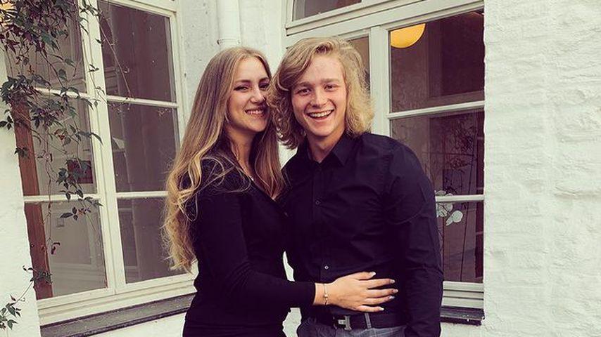 GNTM-Kandidatin Dascha mit ihrem Freund Nick