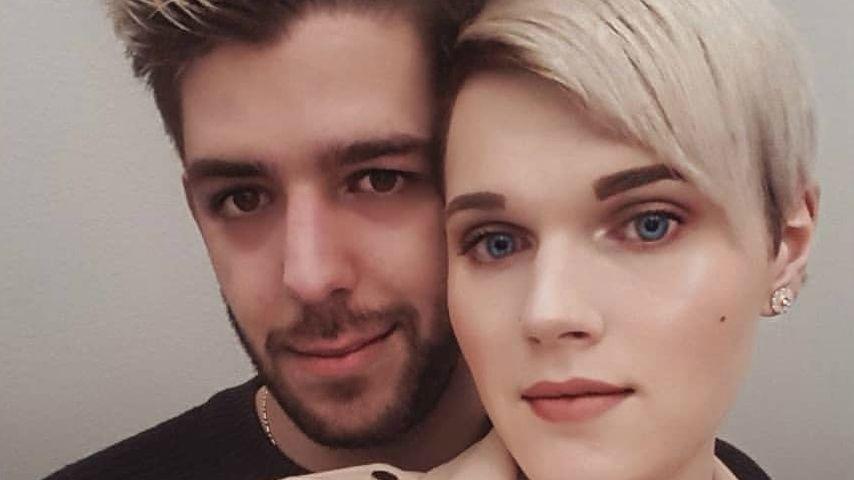 Ex-GNTM-Kandidatin Lucy und ihr Freund Mirko