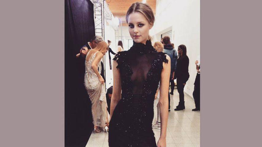 So fing alles an: Maja zeigt ihr allererstes GNTM-Kleid