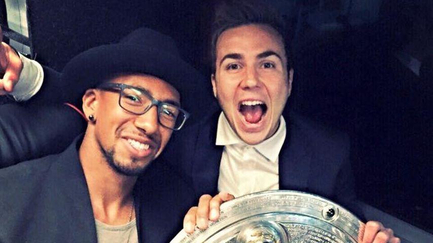 Jérôme Boateng und Mario Götze