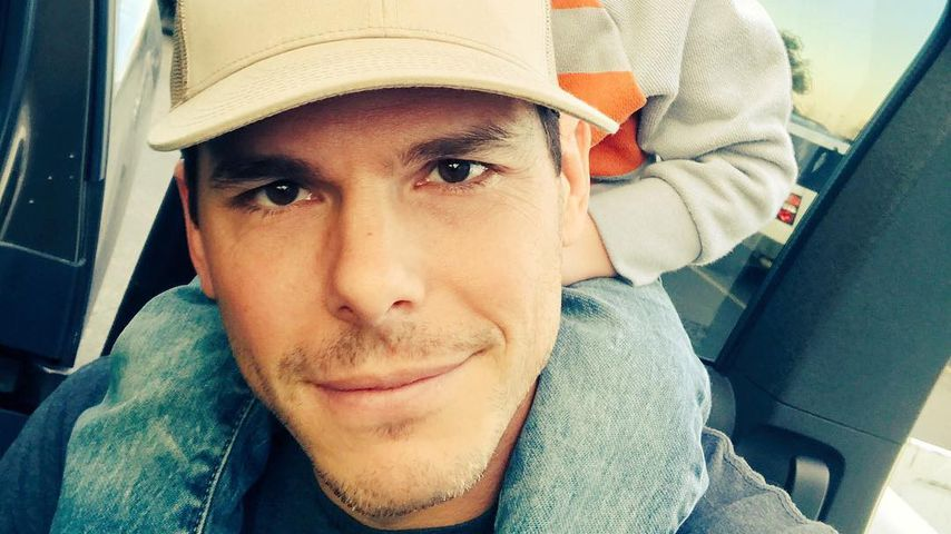 Granger Smith mit Sohn River