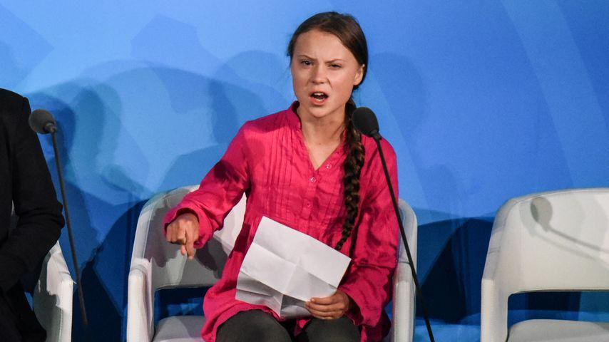 """Greta Thunberg bei dem """"Climate Action""""-Gipfel der UN in NYC im September 2019"""