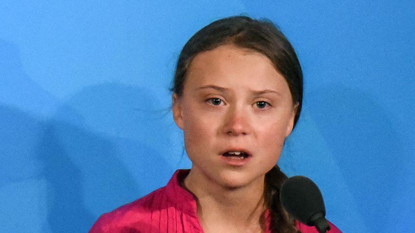 Greta Thunberg beim UN-Klimagipfel 2019 in New York