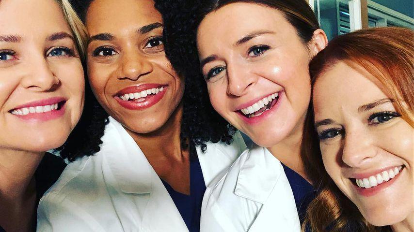 """Jessica Capshaw, Kelly McCreary, Caterina Scorsone und Sarah Drew bei """"Grey's Anatomy"""""""
