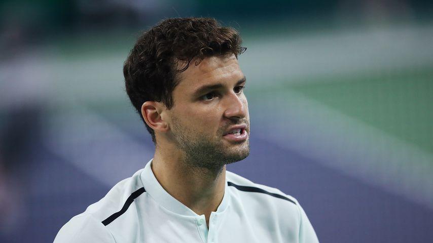 Grigor Dimitrov bei einem Tennisspiel 2017
