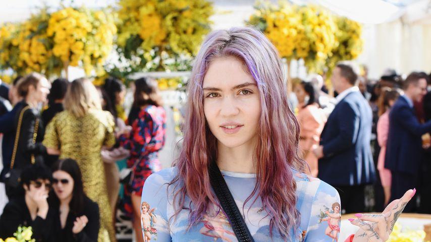 Grimes im Februar 2019