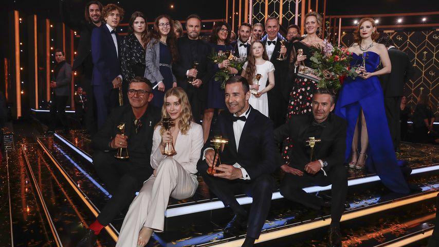 Gruppenfoto bei der Goldenen Kamera 2019