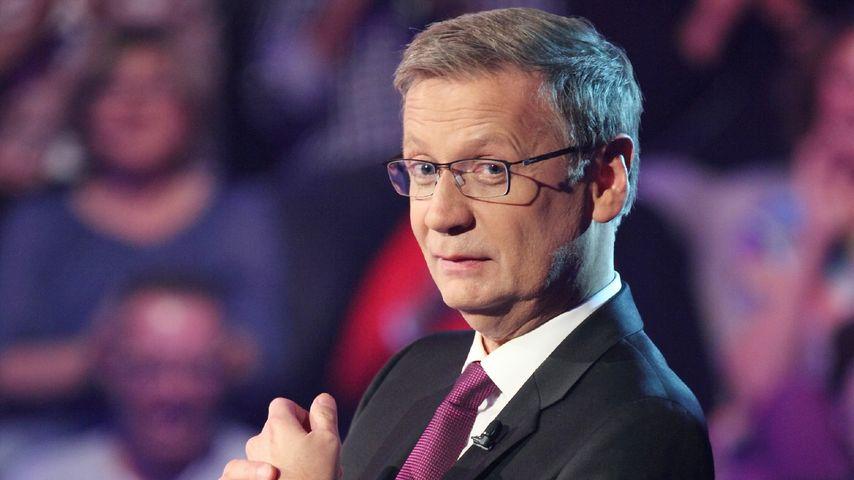 """Günther Jauch bei """"Wer wird Millionär"""""""