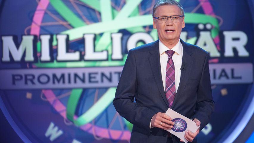 """Günther Jauch bei """"Wer wird Millionär? - Prominenten-Special"""""""