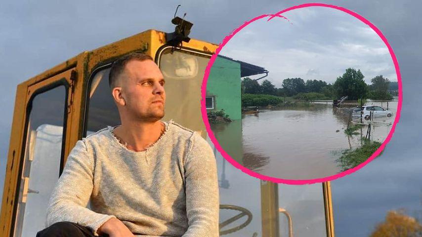 """Hochwasser: """"Bauer sucht Frau""""-Gunthers Hof wurde überflutet"""