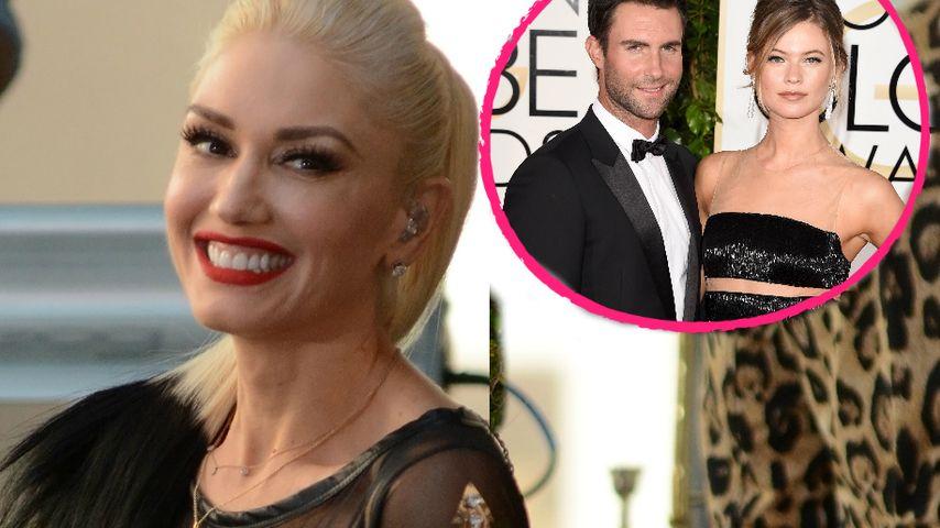 Sie ist so süß! Gwen Stefani schwärmt von Adam Levines Baby