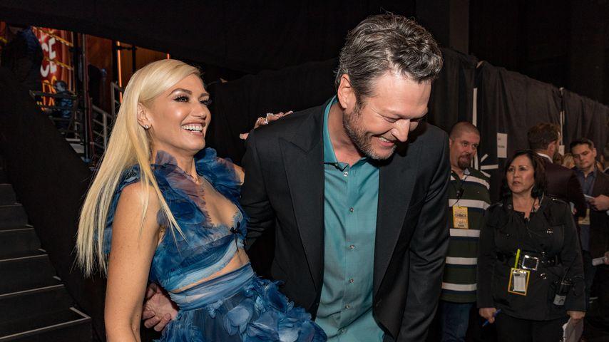 Gwen Stefani und Blake Shelton bei den People's Choice Awards 2017 in Los Angeles