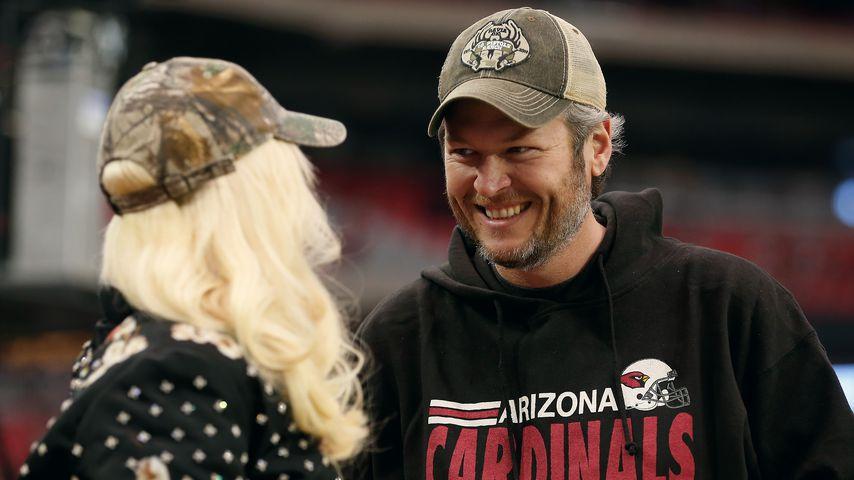 Gwen Stefani und Blake Shelton in Arizona