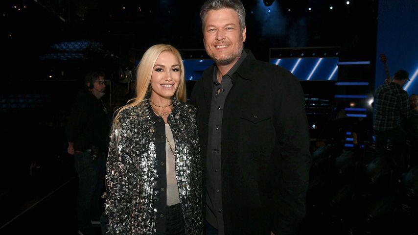 Gwen Stefani und Blake Shelton in Los Angeles, Januar 2020
