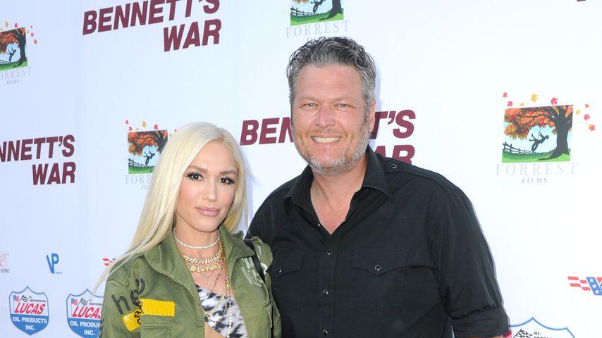 Gwen Stefani und Blake Shelton im August 2019